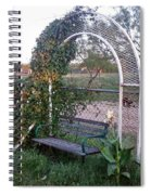 Take A Seat Spiral Notebook