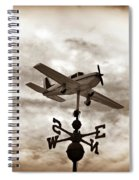 Take Me To The Pilot Spiral Notebook