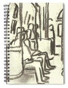 Take The A Train, Nyc Spiral Notebook