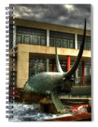 Take The Bull By The Horns Spiral Notebook