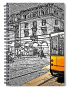 Take The Tram Spiral Notebook
