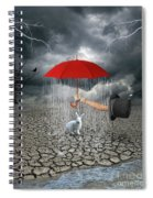 Take This.. It May Rain Spiral Notebook