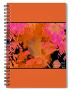 Take Three Floral Abstract Spiral Notebook