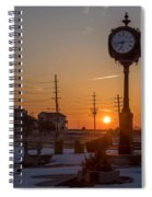 Take Time To Remember Seaside Park Nj Spiral Notebook