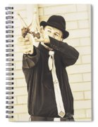 Taking Aim To Fire Spiral Notebook