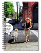 Taking Her Out For A Stroll Spiral Notebook