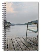 Sittin' On The Dock  Spiral Notebook