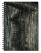 Taking The Middle Road Spiral Notebook
