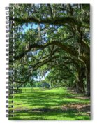 Tale Of The Oaks Spiral Notebook