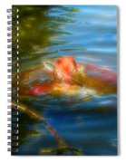 Tale Of The Wild Koi 2  Spiral Notebook