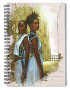 Tale Of Two Sister Spiral Notebook