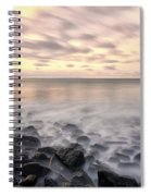Talisker Bay Boulders At Sunset Spiral Notebook