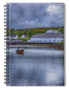 Talisker  Isle Of Skye Spiral Notebook