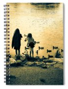 Talking To Ducks Spiral Notebook