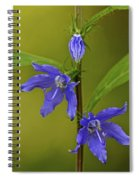 Tall Bellflower Spiral Notebook