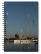 Tall Boats In The Morning Spiral Notebook