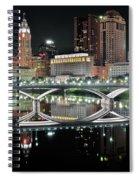 Tall Columbus Reflection Spiral Notebook