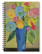 Tall Floral Order Spiral Notebook
