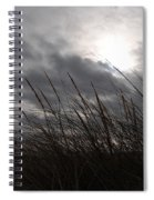 Tall Grass And The Blues Spiral Notebook