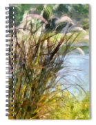 Tall Grasses Spiral Notebook