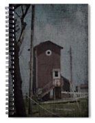 Tall Little Stilt House 3 Spiral Notebook