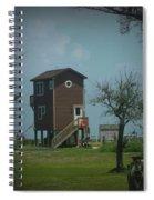 Tall Little Stilt House, Spiral Notebook