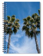 Tall Palms Couples Spiral Notebook