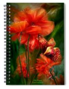 Tall Poppies Spiral Notebook