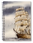 Tall Ship Adventure Spiral Notebook