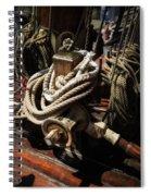 Tall Ship Details Spiral Notebook