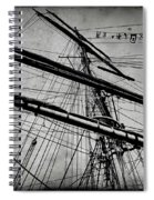 Tall Ship Mast V3 Spiral Notebook