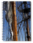 Tall Ship Rigging Lady Washington Spiral Notebook