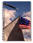 Tall Ship Sails 8 Spiral Notebook