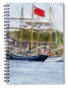 Tall Ships Festival Spiral Notebook
