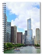 Tall Towers In Chicago Spiral Notebook