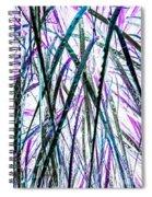 Tall Wet Grass Spiral Notebook