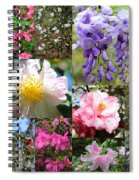 Tallahassee Springtime Collage Spiral Notebook
