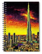 Tallest Building In The World Spiral Notebook