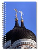 Tallinn Estonia Alexander Nevski Cathedral. Spiral Notebook