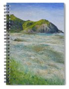 Tallows Beach Byron Bay Northern Nsw Australia 2002  Spiral Notebook