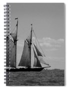 Tallship Spiral Notebook