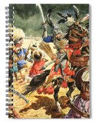 Tamerlane The Terrible Spiral Notebook