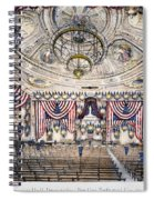 Tammany Hall, Nyc Spiral Notebook