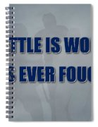 Tampa Bay Lightning Battle Spiral Notebook