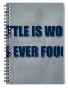 Tampa Bay Rays Battle Spiral Notebook