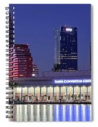Tampa Convention Center Spiral Notebook