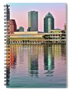 Tampa Elongated Spiral Notebook