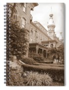 Tampa Gem In Sepia Spiral Notebook