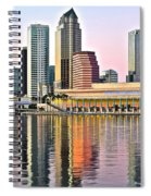 Tampa In Vivid Color Spiral Notebook