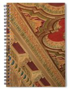 Tampa Theatre Ornate Ceiling Spiral Notebook